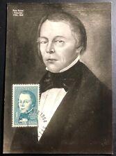 1964 Liechtenstein Picture Postcard Cover FDC Peter Kaiser Centenary