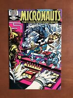 Micronauts #45 (1982) 9.2 NM Marvel Key Issue Bronze Age Comic Book High Grade