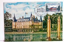 Yt 2111 CHATEAU DE RAMBOUILLET  FRANCE   CARTE MAXIMUM 1° JOUR FCP