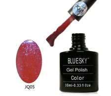 BLUESKY GLITTER NAIL POLISH UV GEL SOAK OFF JQ05
