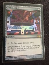 1x FOIL Temple Bell - Magic 2011 M11 - SP+ Magic MTG X1