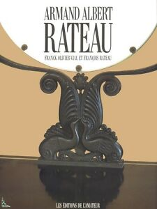 Armand Albert Rateau, architect decorator, French book