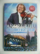 André Rieu - A Midsummer Night's Dream Live in Maastricht 4 (DVD, 2010) Concert