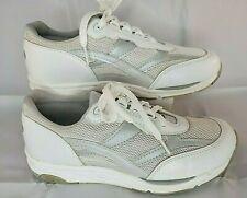 SAS Women Shoes Tour Mesh White Leather 8 W Nice