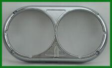 Chrome Plastic Peterbilt 359 Style Dual Headlight Bezel Original Style -Set of 2