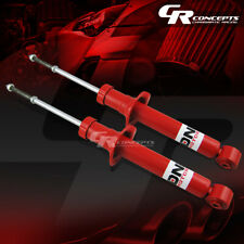 PAIR RED FRONT SHOCKS ABSORBER STRUT FOR 01-03 NISSAN MAXIMA 02-04 INFINITI I35