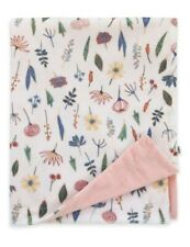 ED Ellen DeGeneres Painterly Floral Baby Blanket in Peach