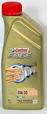 CASTROL Edge 0w-30 BENZINA/DIESEL OLIO MOTORE COMPLETAMENTE SINTETICO - 1 LITRI