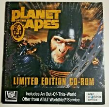 Planet Of The Apes Limited Edition Cd-Rom Promo Interviews Gfx 2001 Sealed Nip