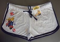 Minions Damen Shorts I Love London ❤️ 36 38 40 Hotpants Hose Kurz Sport Primark