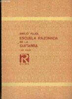Escuela razonada de la guitarra/libro tercero edicion bilingüe castellano y