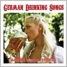 German Drinking Songs ~ 50 Bavarian Originals NEW SEALED 2CD SET Oktoberfest