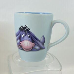 Walt Disney Store Eeyore Coffee Cup Mug Blue Winnie the pooh
