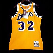 Authentic Magic Johnson Mitchell Ness NBA Lakers Gold Jersey 40 M - kobe