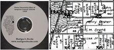 Iroquois Co Illinois IL plat book genealogy Watseka  history land owners CD
