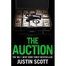 The Auction by Scott, Justin   Paperback Book   9780008222017   NEW