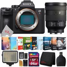 Sony Alpha a7R III Mirrorless Digital Camera + 24-105mm Lens Accessory Kit