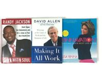 A Lot Of 3 Books Work Business Body Soul Life