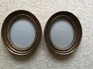 2 x Laura Ashley Oval Antique Looking Photo Frames