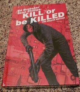 Kill or Be Killed Deluxe Hardcover HC Ed Brubaker Sealed Free Shipping