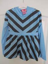 Girls long sleeve hooded tunic age L/7-8 years