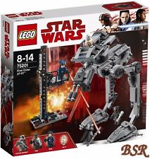 LEGO® Star Wars™: 75201 First Order AT-ST™ & 0.-€ Versand & NEU & OVP !