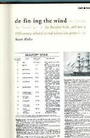 Defining the Wind : The Beaufort Scale, and How a 19th-Century Admiral Turned Sc