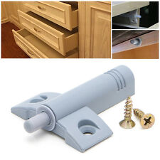 10X Soft Quiet Kitchen Cabinet Door Drawer Close Closer Damper Buffers + Screws