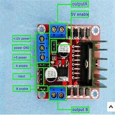 1PCS Dual Bridge L298N DC  Motor Driver Controller Board 4 Arduino HOT