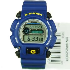 0*NEW* CASIO MENS G SHOCK BLUE WATCH FLASH DW-9052-2VDR   RRP£99