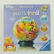 Ravensburger Disney Winnie the Pooh  Puzzle Ball 96 Curved Jigsaw Puzzle Pieces