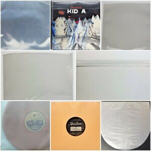 + 1 Free dj Magnet 25 Outer Sleeves for Ten Inch Vinyl Records 3mil Mid Fit Plastic 10 dj 78rpm Poly Covers 10 5//8