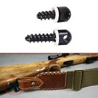 2x Quick Detach Super Swivels Screw & Nut Kit Rifle Shotgun QD Sling Mount Tool