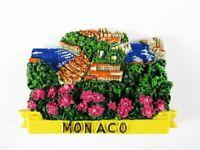Magnet Monaco Fürsten Palast Polyresin,Souvenir Frankreich France,Neu *