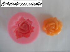 Rosa De Silicona Molde Pastel Decoración Molde Flor Chocolate Hornear Glaseado Boda