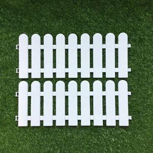 20CM*50CM Plastic Wooden Effect Lawn Border Edge Garden Edging Picket Fence