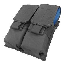 CONDOR MOLLE Modular Nylon Double (4x 5.56mm Mag) Pouch ma4 BLACK