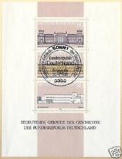 BRD 1986: Gebäude-Block Nr. 20 mit sauberem Bonner Ersttags-Sonderstempel! 156