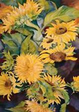 """Sunny Side Up Daisies Brilliance Garden Size (18"""" x 13"""" Approx)  Flag TOL 18010"""