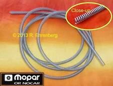 """☛ NOS Mopar Brake Tube Line ARMOR 3/16"""" Coil Spring Dodge Plymouth Charger Cuda"""