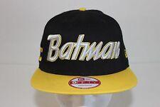 NEW ERA BATMAN Black/ Yellow 9FIFTY Snapback Hat Cap MARVEL DC COMICS