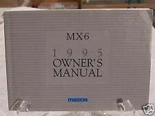 **NICE** 1995 Mazda MX6 Owners Manual 95