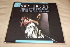 Son House Father Delta Blues Sealed 2 LP Coke Bottle Clear Colored Vinyl