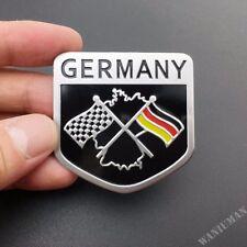Metal Germany Flag Emblem Car Badge Decal Sticker For Audi VW Golf GTI