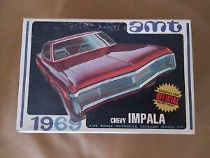 Orginal AMT Vintage 1969 Chevy Impala Junkyard