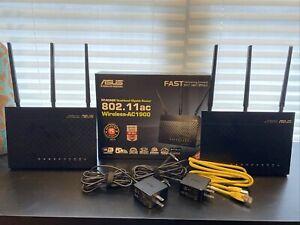 ASUS RT-AC68U AC68R AiMesh 2 packAC1900 Whole Home Dualband Mesh Wifi System