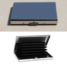 Stainless Steel Waterproof Portable Case Wallet Business ID Credit Card Holder