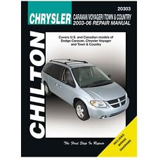 Chilton Repair Manual 20303 Dodge Caravan Voyager & Town & Country, 2003-07
