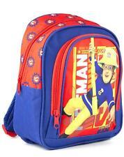 Fireman Sam Red Blue Boy's Kids School Polyester Backpack Bag