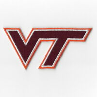 NCAA Virginia Tech Hokies Iron on Patches Embroidered Patch Applique Badge Sew